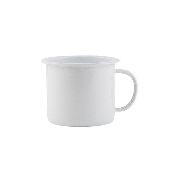 Vintage Style White Enamel Mug Danish Design By Ib Laursen