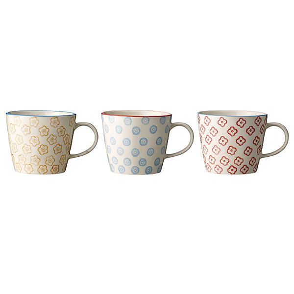 Beautiful Emma Mug Danish Design set of 3 by Bloomingville  sc 1 st  eM Home - Tableware | Home Decor \u0026 Glassware & eM Home - Tableware | Home Decor \u0026 Glassware