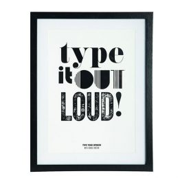 wall-art-print-poster-picture-framed-type-it-out-loud-by-house-doctor
