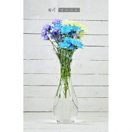 clear-glass-vase-large-handmade-flower-bunch-bouquet-tall-40-cm-not-perfect