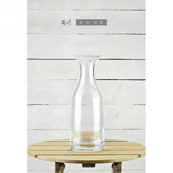 decorative-mouth-blown-clear-glass-decanter-carafe