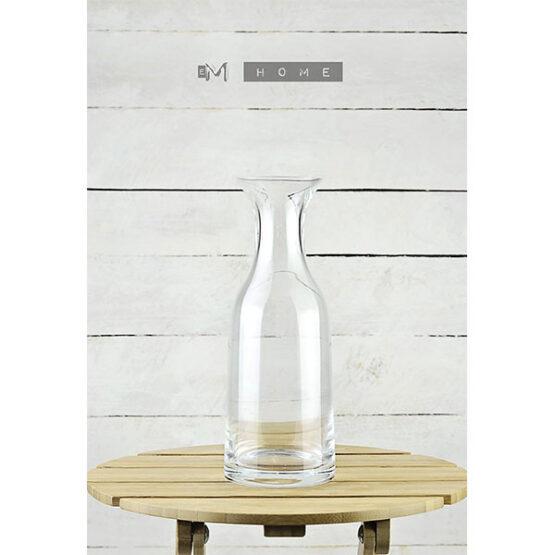 107-decorative-mouth-blown-clear-glass-bottle-flower-vase-bunch-bouquet-1