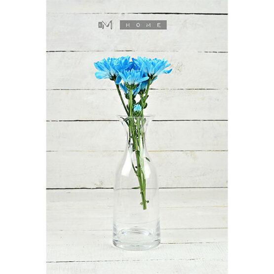 107-decorative-mouth-blown-clear-glass-bottle-flower-vase-bunch-bouquet