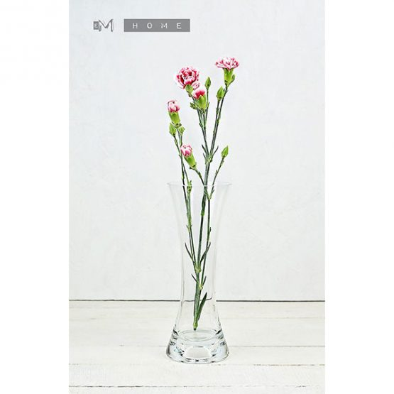 116-clear-glass-flower-vase-or-tealight-holder-2in1-handmade-bunch-bouquet-tall-15-cm-1