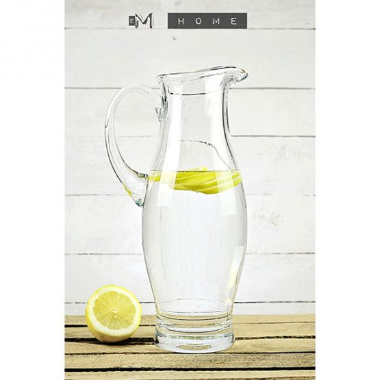 handmade-clear-glass-jug-pitcher-water-wine-juice-cocktail-1800ml-tall-31-cm