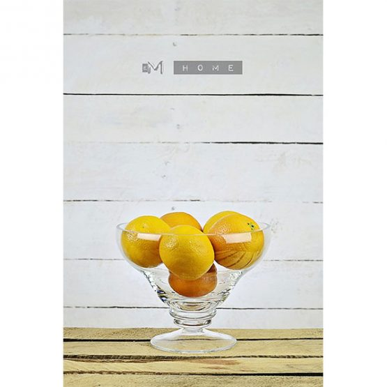 78-handmade-clear-glass-footed-fruits-bowl-dish-trifle-centerpiece-1
