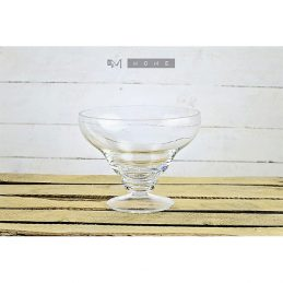 78-handmade-clear-glass-footed-fruits-bowl-dish-trifle-centerpiece