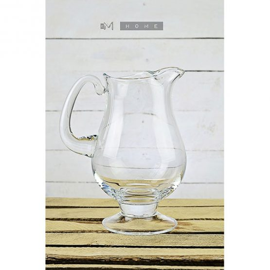 79-handmade-clear-glass-footed-jug-pitcher-water-wine-juice-cocktail-25l-tall-27cm-1