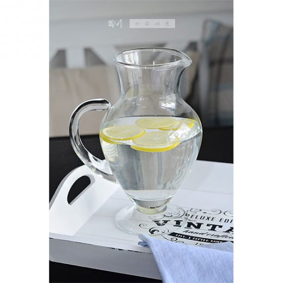 81-handmade-clear-glass-footed-jug-pitcher-water-wine-juice-cocktail-14l-tall-23cm-2