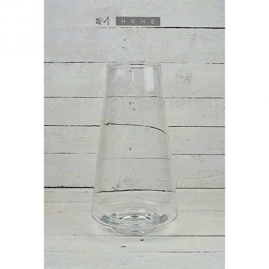 86-clear-glass-vase-large-handmade-mouth-blown-classic-flower-vase-tall-38-cm-1