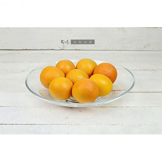 93-handmade-clear-glass-fruits-bowl-dish-trifle-salad-plate-centerpiece