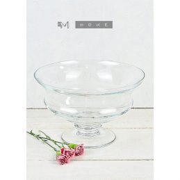 118-handmade-footed-clear-glass-bowl-trifles-fruit-salad-centerpiece