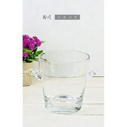119-handmade-clear-glass-ice-bucket-champagne-wine-cooler-drinks-bottle