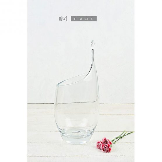 120-contemporary-elegant-clear-glass-vase-large-handmade-mouth-blown-flower-bunch-bouquet-tall-34-cm-2