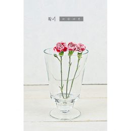 handmade-footed-clear-glass-vase-hurricane-candle-holder