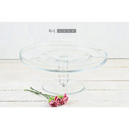 handmade-classic-clear-glass-display-cake-stand-plate-wedding-party-29-cm