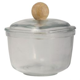 square-shaped-glass-laura-storing-jar-with-wooden-knob-by-ib-laursen