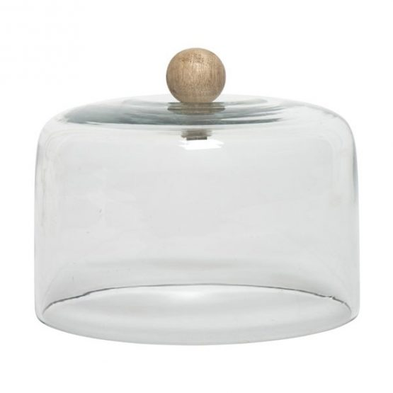 200-clear-glass-cake-food-cover-dome-cloche-with-wooden-knob-laura-danish-design