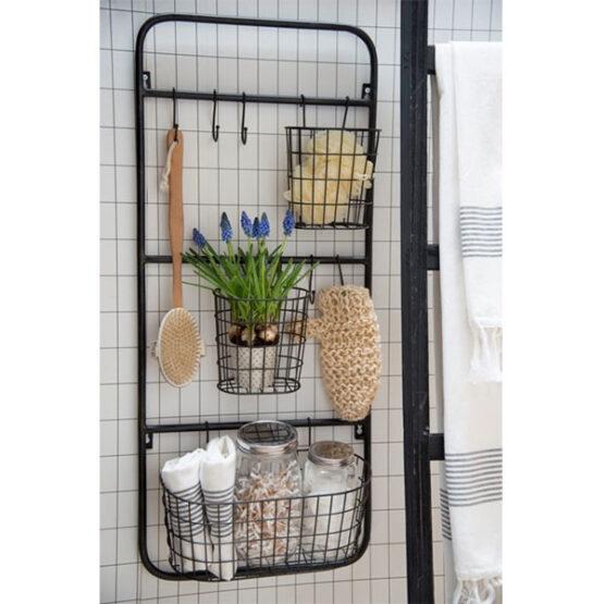 205-wall-display-rack-holder-organizer-storage-mount-hanger-office-2