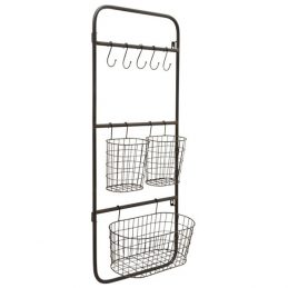 205-wall-display-rack-holder-organizer-storage-mount-hanger-office