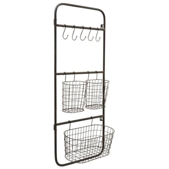 205-wall-display-rack-holder-organizer-storage-mount-hanger-office