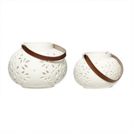210-hubsch-pretty-tealight-holder-with-leather-strap-set-of-2