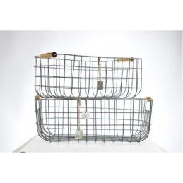 rectangular-wire-baskets-set-of-2-with-wooden-handles-by-ib-laursen