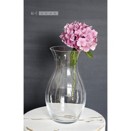 handmade-classic-clear-flower-glass-vase-25-cm-wedding-centrepiece