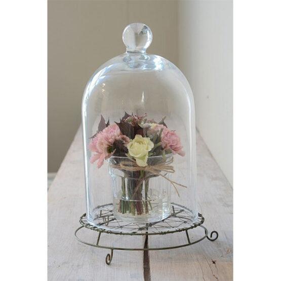 270-medium-glass-display-cloche-bell-jar-dome-28-cm-tall-danish-design-by-ib-laursen-1