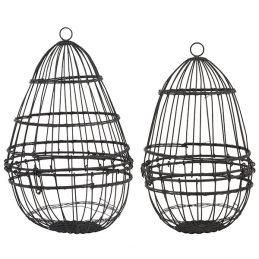 303-egg-metal-wire-hanging-basket-holder-storage-display