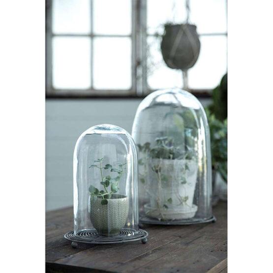 307-circular-glass-display-cloche-bell-jar-dome-20-cm-tall-danish-design-by-ib-laursen-1