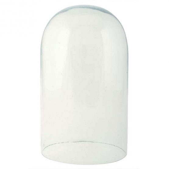 307-circular-glass-display-cloche-bell-jar-dome-20-cm-tall-danish-design-by-ib-laursen