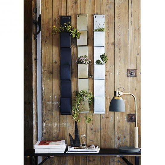 322-decorative-3-tier-wall-pocket-matt-black-for-plants-decor-danish-design-by-madam-stoltz-1