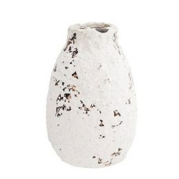 decorative-terracotta-vase-white-danish-design-by-madam-stoltz