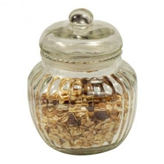 338-decorative-ribbed-glass-jar-with-lid-for-cookie-sweet-kitchen-storage-wedding-small