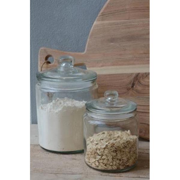decorative glass jar with lid for cookie sweet kitchen. Black Bedroom Furniture Sets. Home Design Ideas
