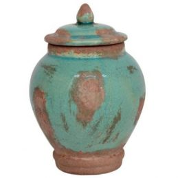 343-decorative-turquoise-storage-jar-with-lid-danish-design-by-ib-laursen