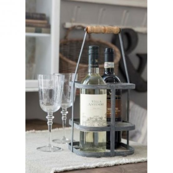 350-metal-zinc-bottle-basket-carrier-rack-with-wooden-handle-by-ib-laursen-1