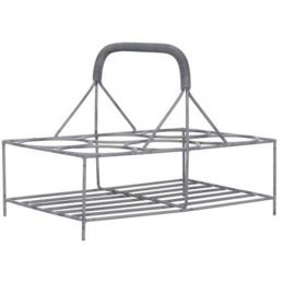 351-wire-metal-holder-basket-carrier-rack-for-6-glasses-by-ib-laursen