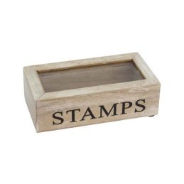 378-shabby-chic-style-natural-wood-stamp-storage-box-with-glass-lid