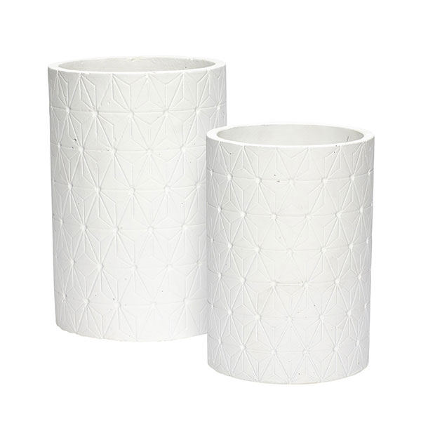 387-beautiful-concrete-plant-pot-with-pattern-set-of-2-danish-design-by-hubsch