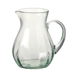 431-green-glass-pitcher-jug-perfect-for-water-juice-cocktail-17-cm-by-parlane