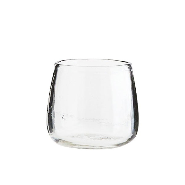 Small Clear Vase Glass Pot Perfect For Rope Plant Holder Hanger