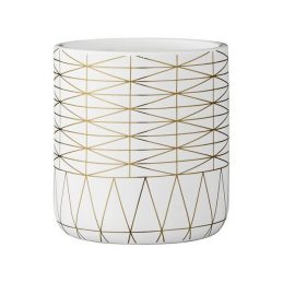 476-bloomingville-decorative-ceramic-white-flower-pot-with-gold-decal