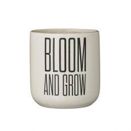 477-bloomingville-decorative-ceramic-white-flower-pot-with-printed-words