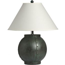 modern-black-round-base-table-lamp-with-white-linen-shade