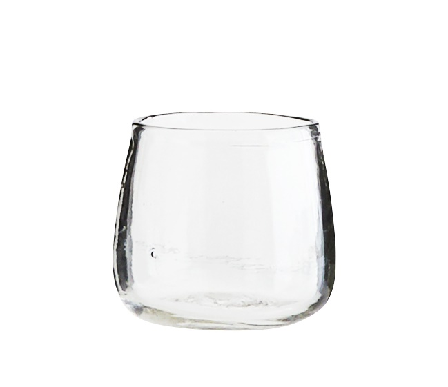 Small Clear Vase Glass Pot