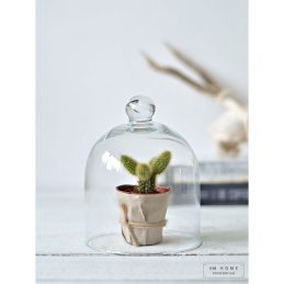 507-small-mouth-blown-glass-display-cover-cloche-bell-jar-dome-centrepiece-15-cm