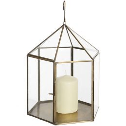 antique-brass-hanging-glass-lantern-for-votive-pillar-tea-light-candle-by-hill-interiors