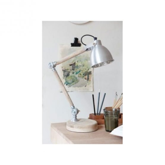 549-Adjustable-Iron-Wooden-Dome-Head-Shaped-Reading-Table-Lamp-Danish-Design-by-Hubsch-1